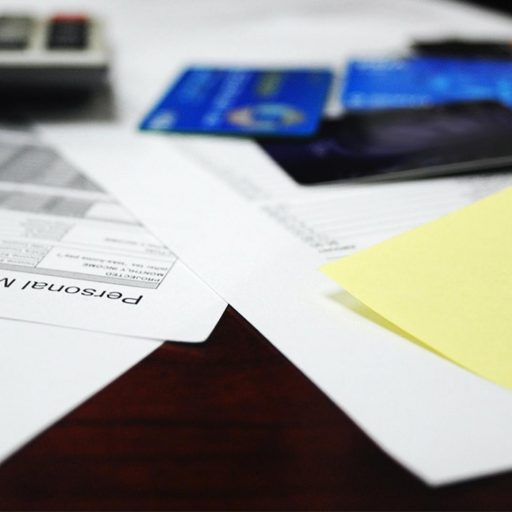 Personal Budgeting items